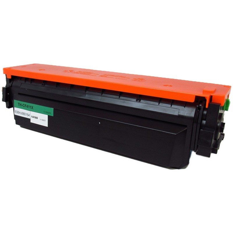 HP CF411X Cyan Toner Cartridge-HP 410XC