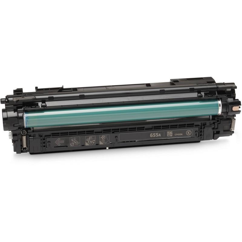 HP CF450A Black Toner Cartridge-HP 655ABK