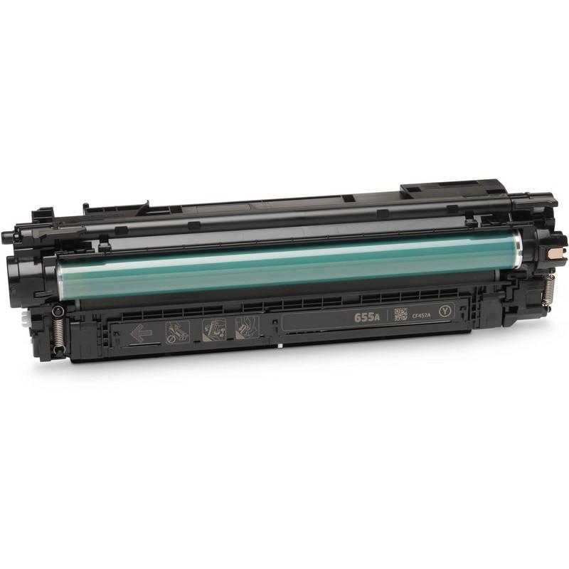 HP CF452A Yellow Toner Cartridge-HP 655AY