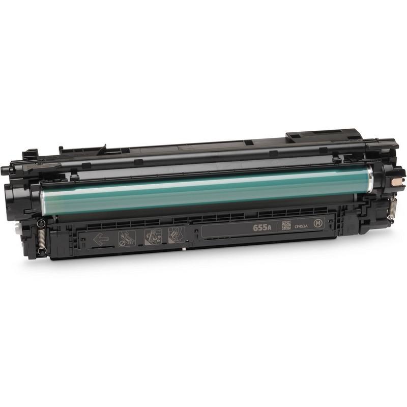 HP CF453A Magenta Toner Cartridge-HP 655AM