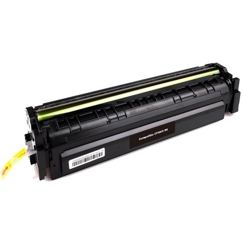 HP CF500X Black Toner Cartridge-HP 202XBK