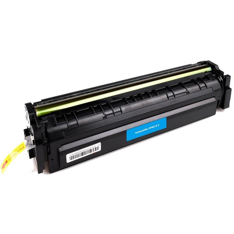 HP CF501X Cyan Toner Cartridge-HP 202XC
