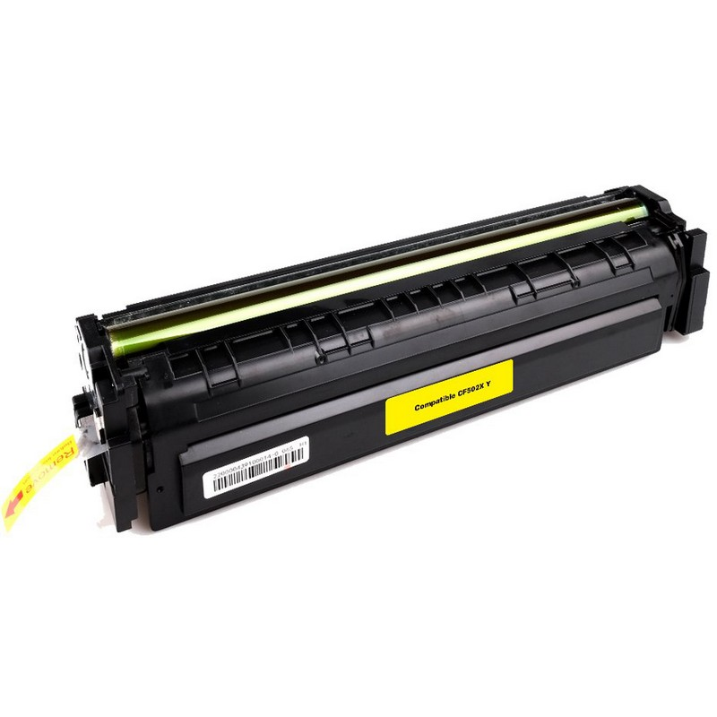 HP CF502X Yellow Toner Cartridge-HP 202XY