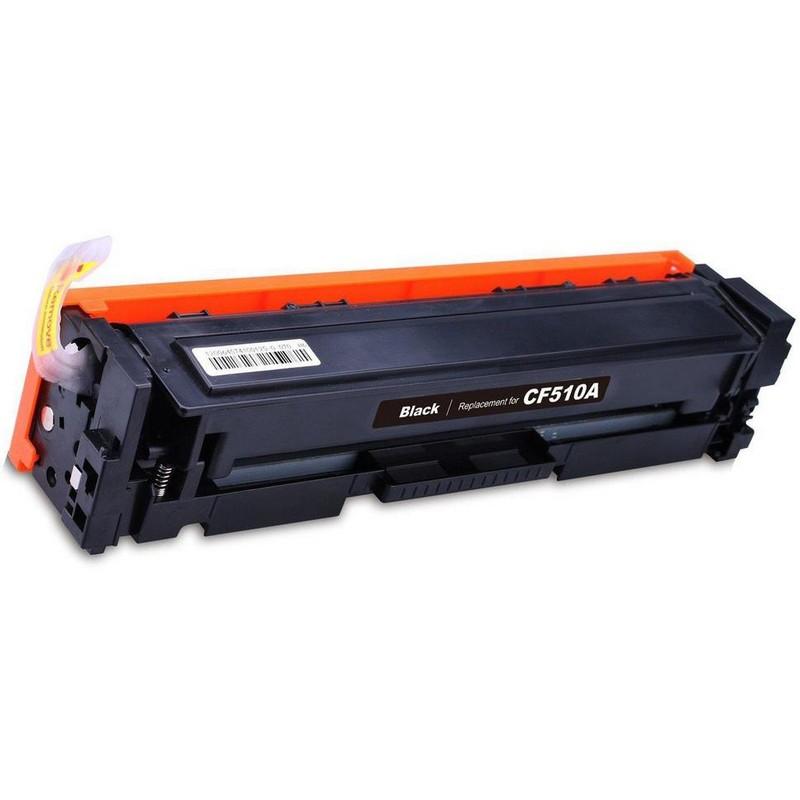HP CF510A Black Toner Cartridge-HP 204A