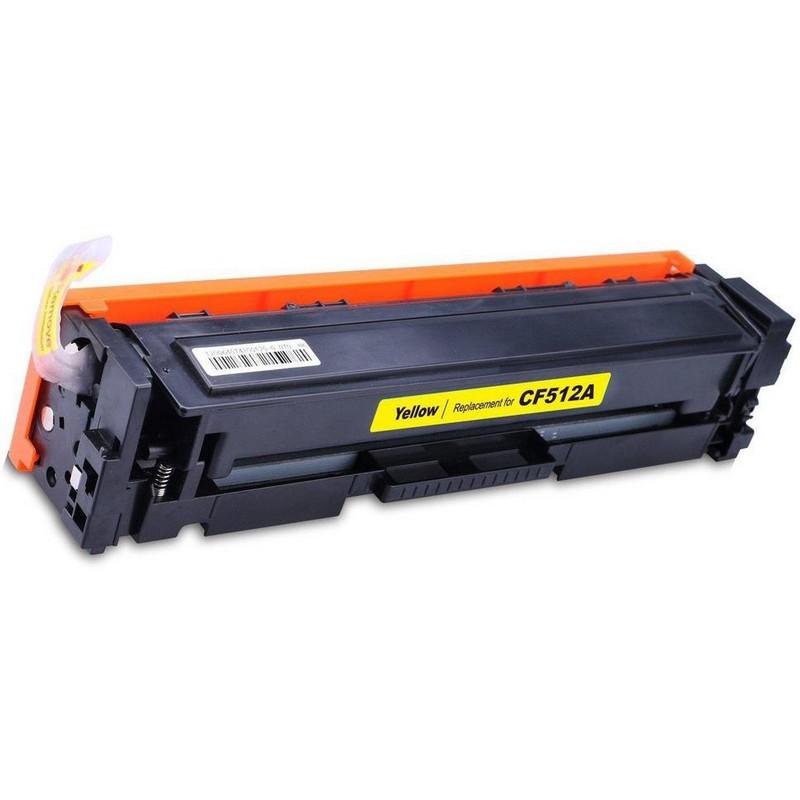 HP CF512A Yellow Toner Cartridge-HP 204A