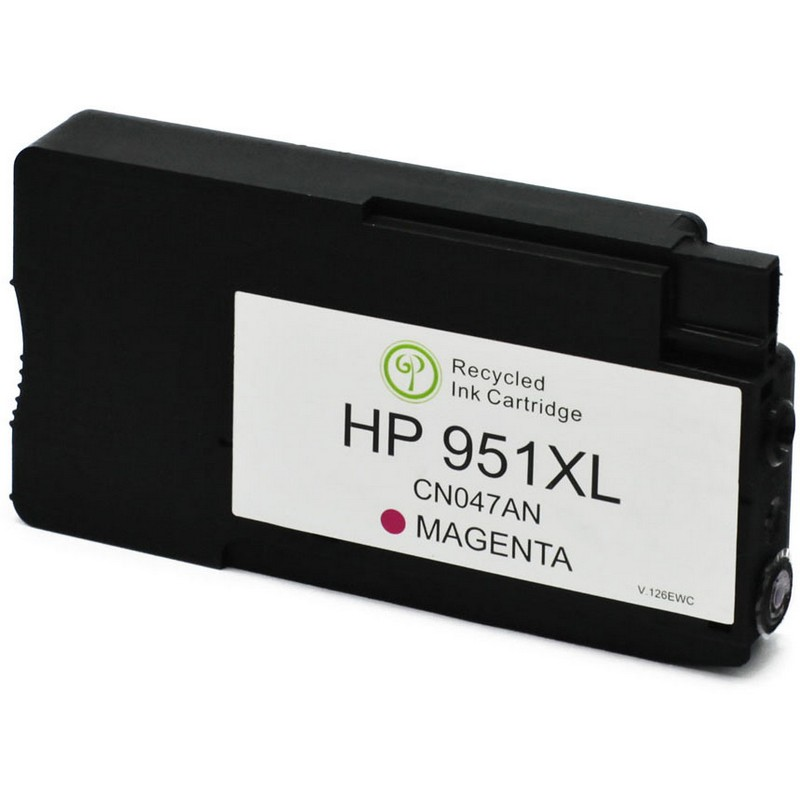 HP CN047AN Magenta Ink Cartridge-HP #940XLM