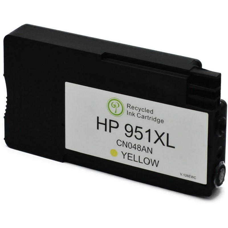 HP CN048AN Yellow Ink Cartridge-HP #940XLY