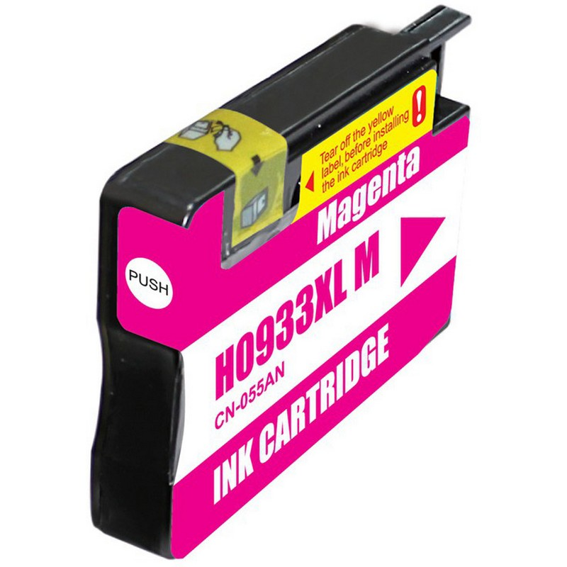 HP CN055AN Magenta Ink Cartridge-HP #933XLM