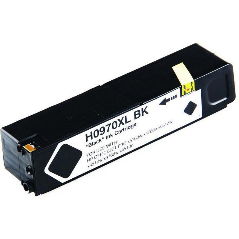 HP CN625AM Black Ink Cartridge-HP #970XLB