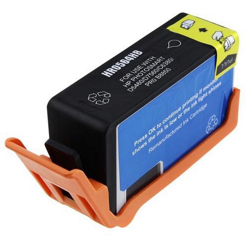 HP CN684WN Black Ink Cartridge-HP #564XL