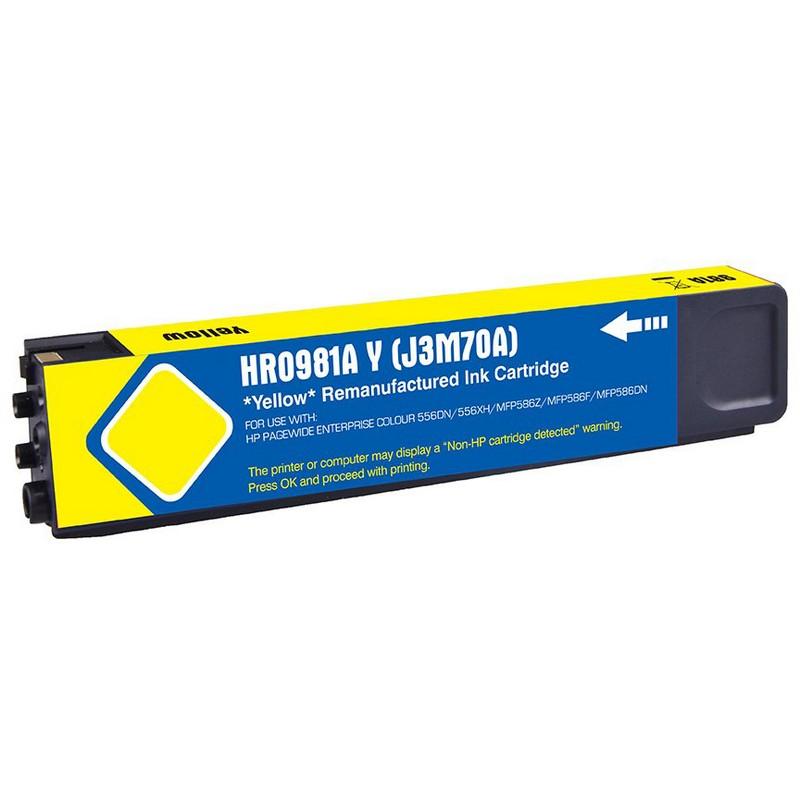 HP J3M70A Yellow Ink Cartridge-HP #981AY