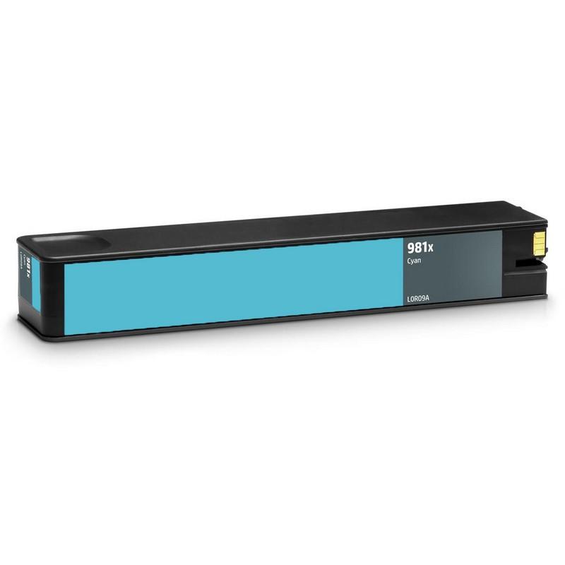 HP L0R09A Cyan Ink Cartridge-HP #981XC