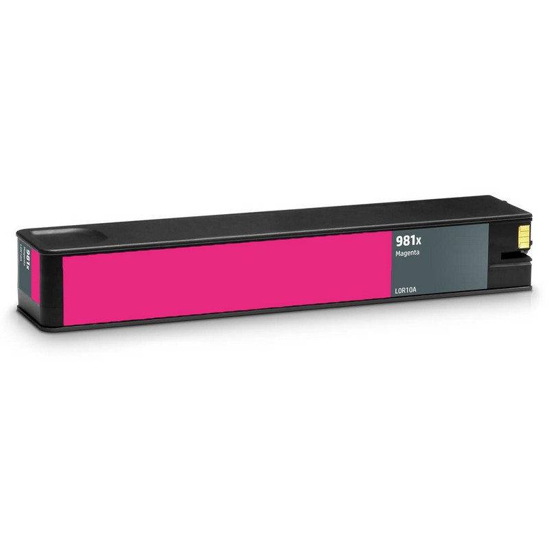 HP L0R10A Magenta Ink Cartridge-HP #981XM