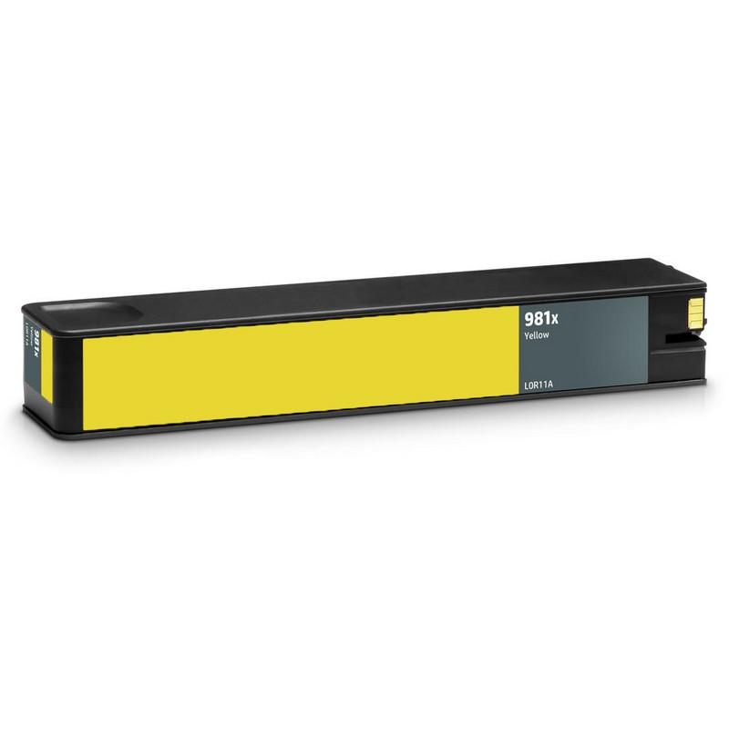 HP L0R11A Yellow Ink Cartridge-HP #981XY