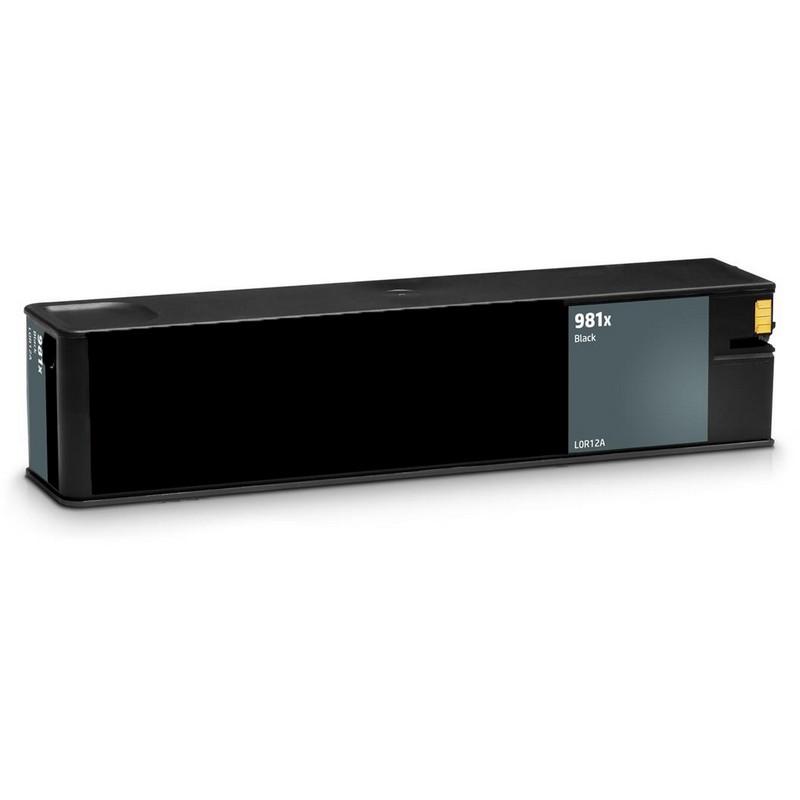 HP L0R12A Black Ink Cartridge-HP #981XBK