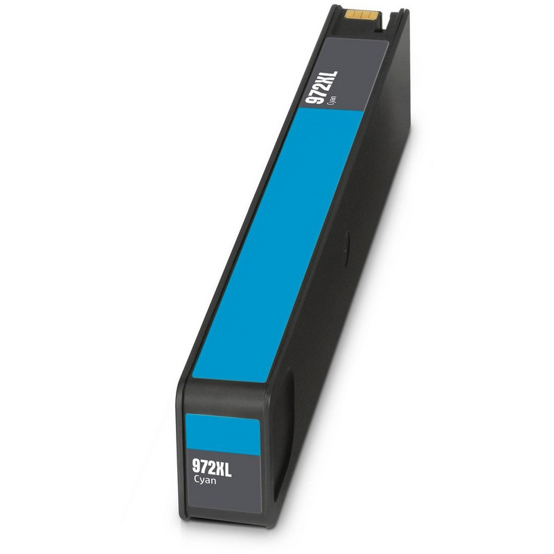 HP L0R98AN Cyan Ink Cartridge-HP #972XLC