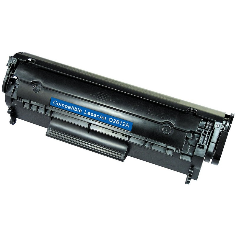Cheap HP Q2612A Black Toner Cartridge