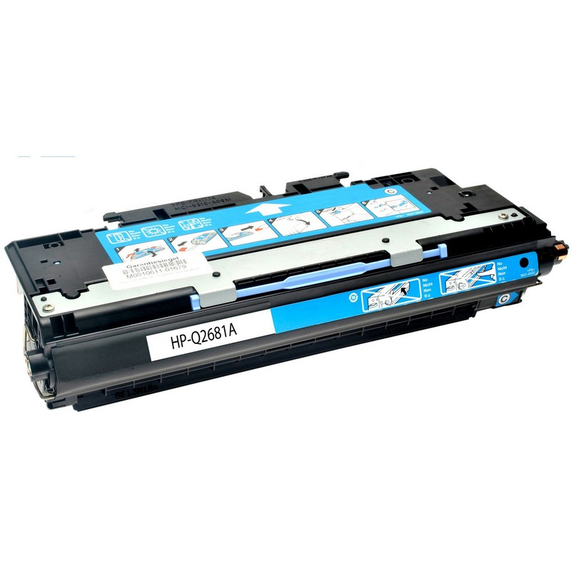 Cheap HP Q2681A Cyan Toner Cartridge