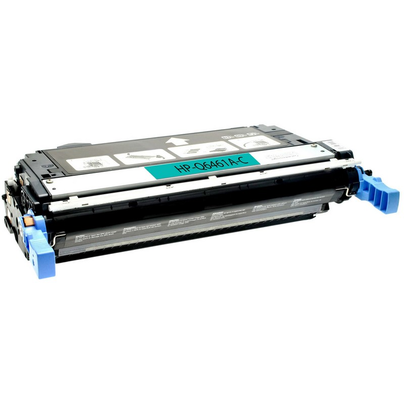 Cheap HP Q6461A Cyan Toner Cartridge