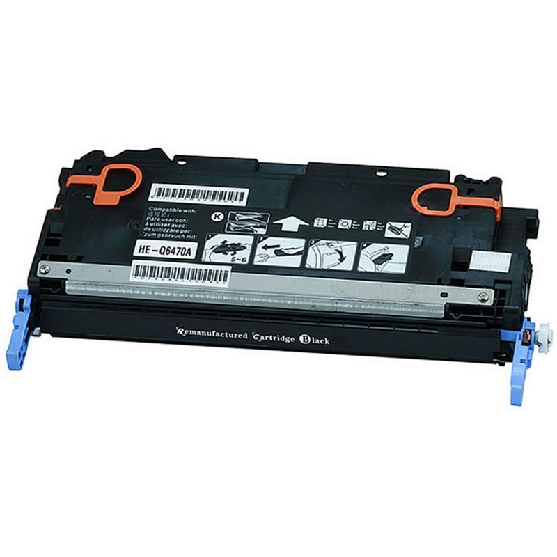 HP Q6470A Black Toner Cartridge