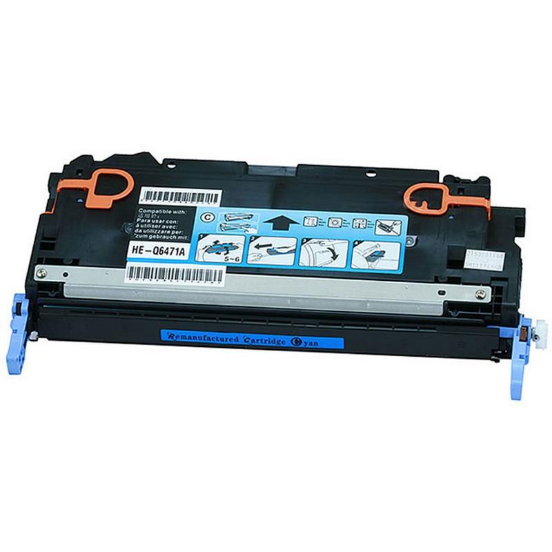 Cheap HP Q6471A Cyan Toner Cartridge