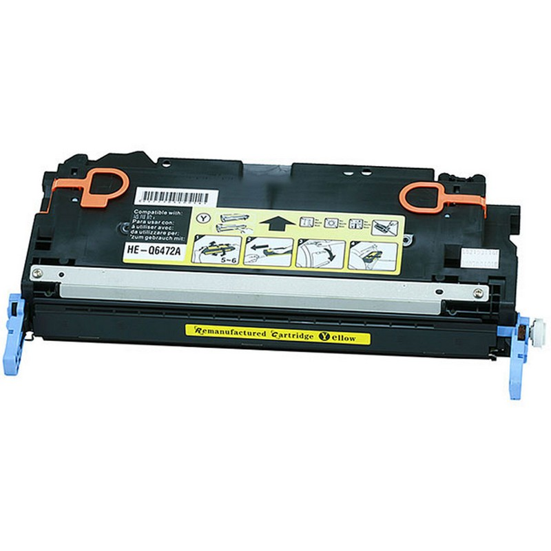 Cheap HP Q6472A Yellow Toner Cartridge