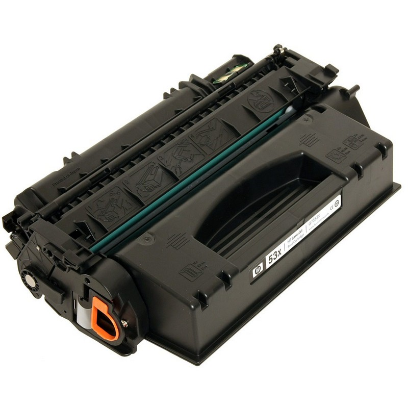 HP Q7553X Black Toner Cartridge