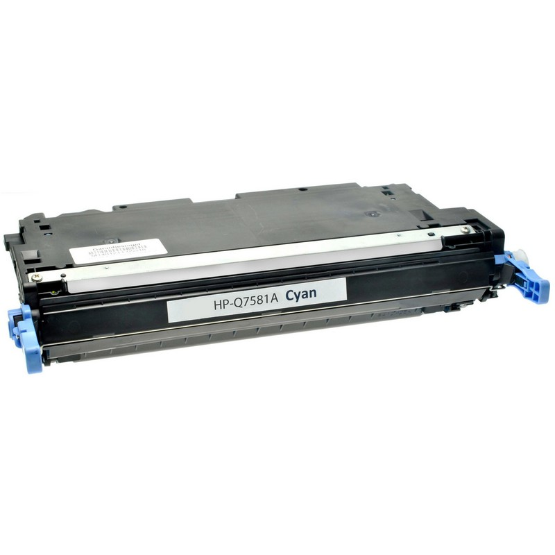 Cheap HP Q7581A Cyan Toner Cartridge