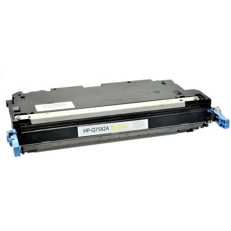 Cheap HP Q7582A Yellow Toner Cartridge