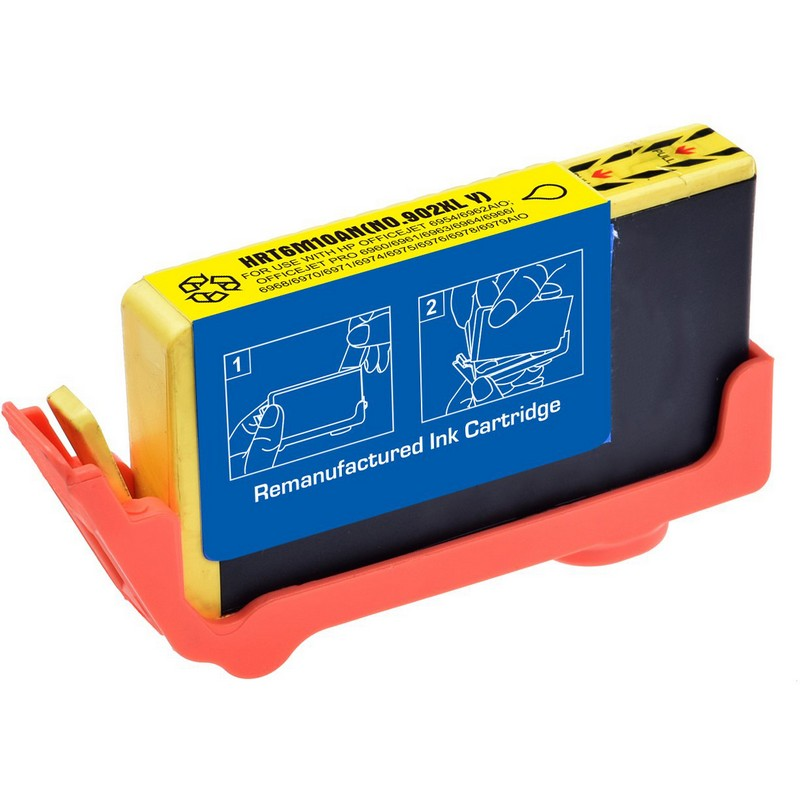 HP T6M10AN Yellow Ink Cartridge-HP #902XLY