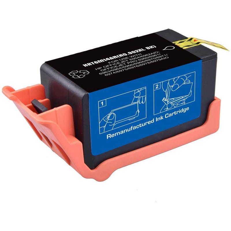 HP T6M14AN Black Ink Cartridge-HP #902XLB