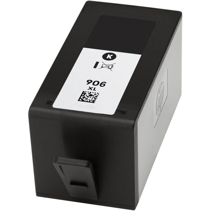 HP T6M18AN Black Ink Cartridge-HP #906XLB