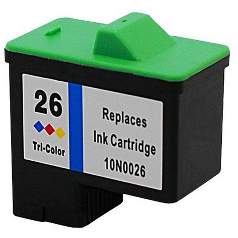 Lexmark 10N0026 Color Ink Cartridge-Lexmark #26