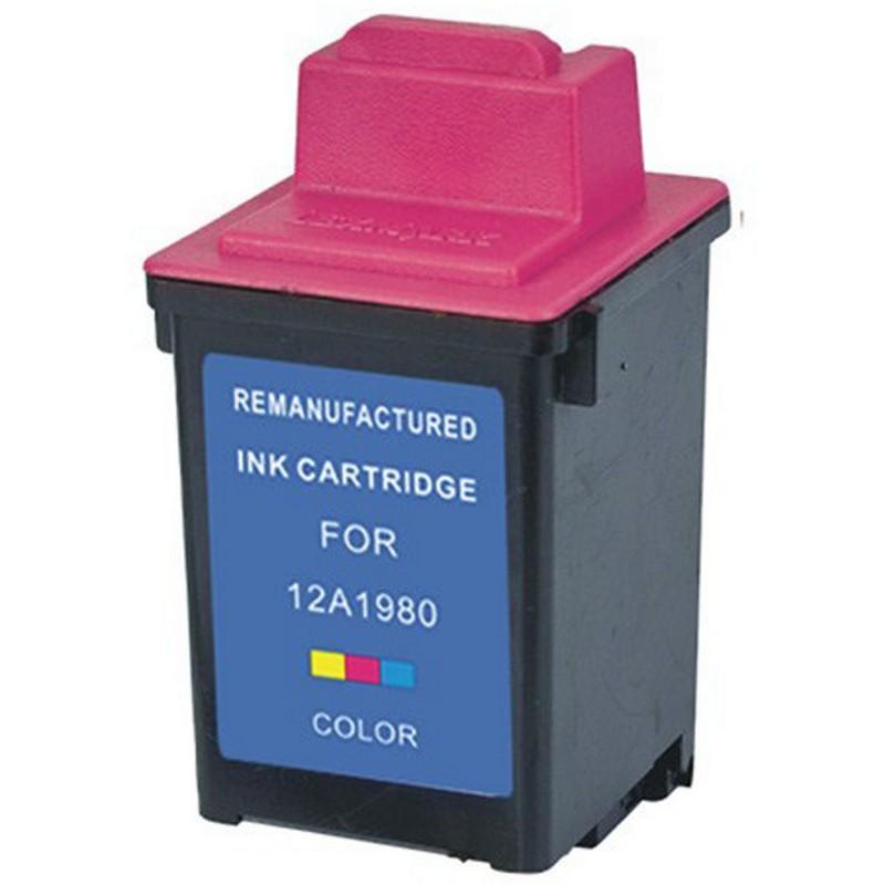 Lexmark 12A1980 Color Ink Cartridge-Lexmark #80