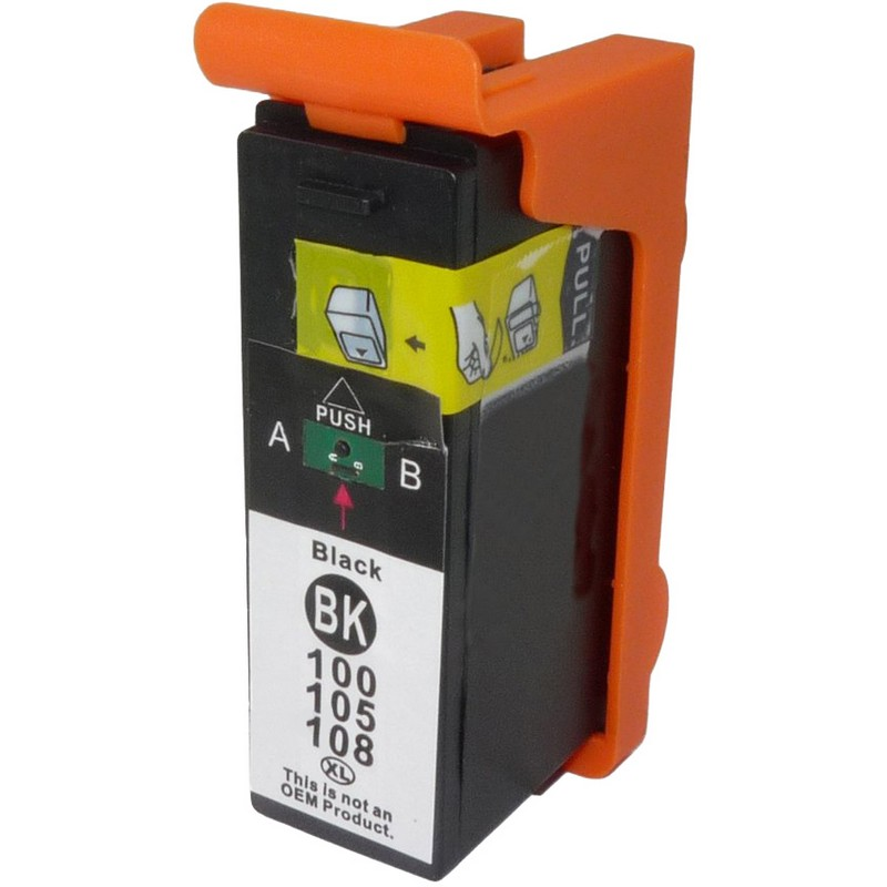 Lexmark 14N1092 Black Ink Cartridge-Lexmark #100XL