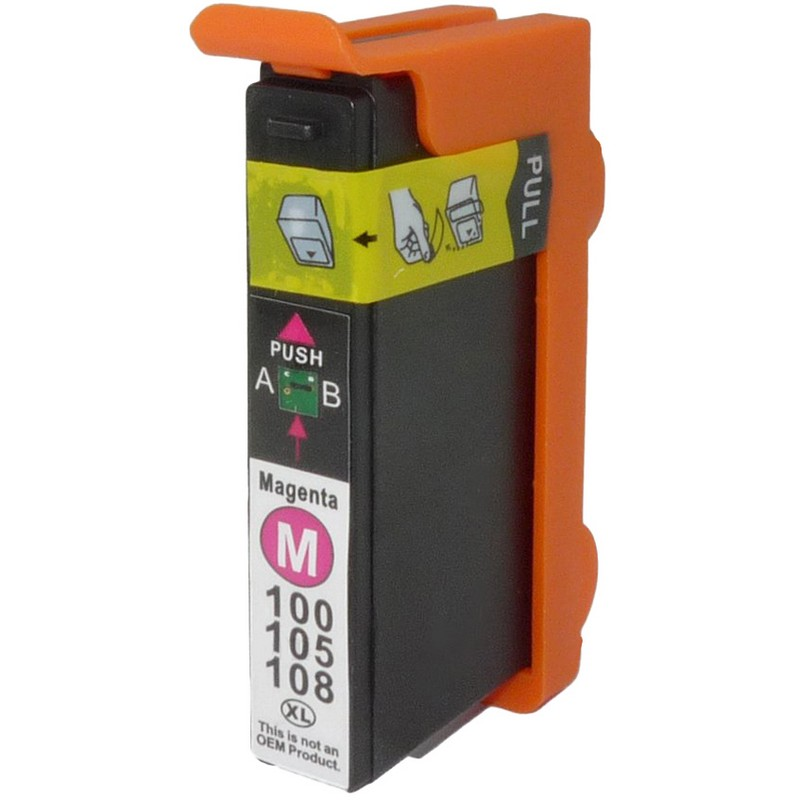 Lexmark 14N1094 Magenta Ink Cartridge-Lexmark #100XL