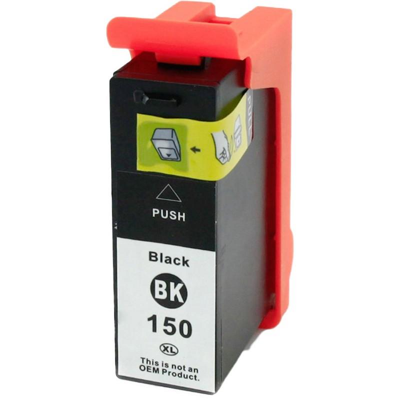 Lexmark 14N1636 Black Ink Cartridge-Lexmark #150XLBK