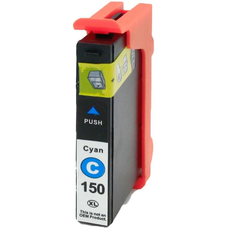 Lexmark 14N1642 Cyan Ink Cartridge-Lexmark #150XLC
