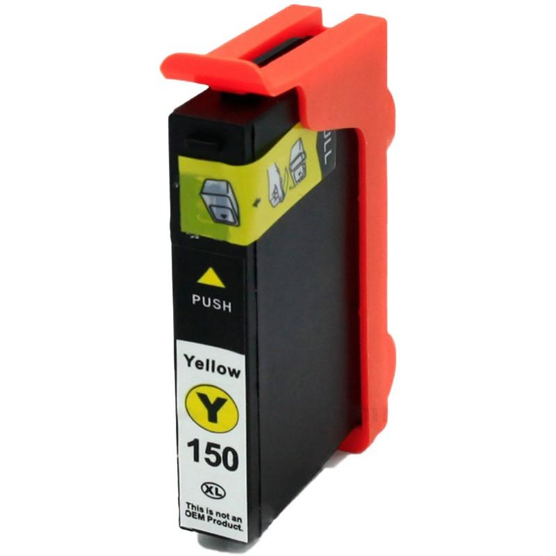 Lexmark 14N1650 Yellow Ink Cartridge-Lexmark #150XLY