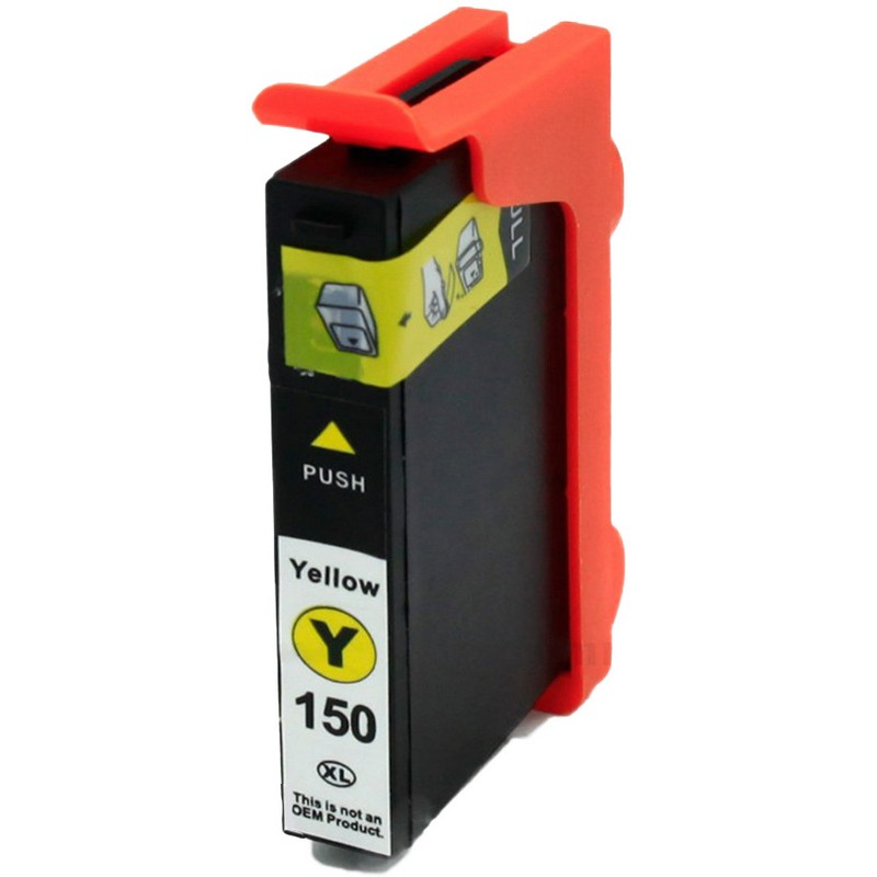 Lexmark 14N1650 Yellow Ink Cartridge-Lexmark #150XLY