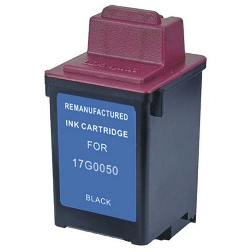 Lexmark 17G0050 Black Ink Cartridge-Lexmark #50