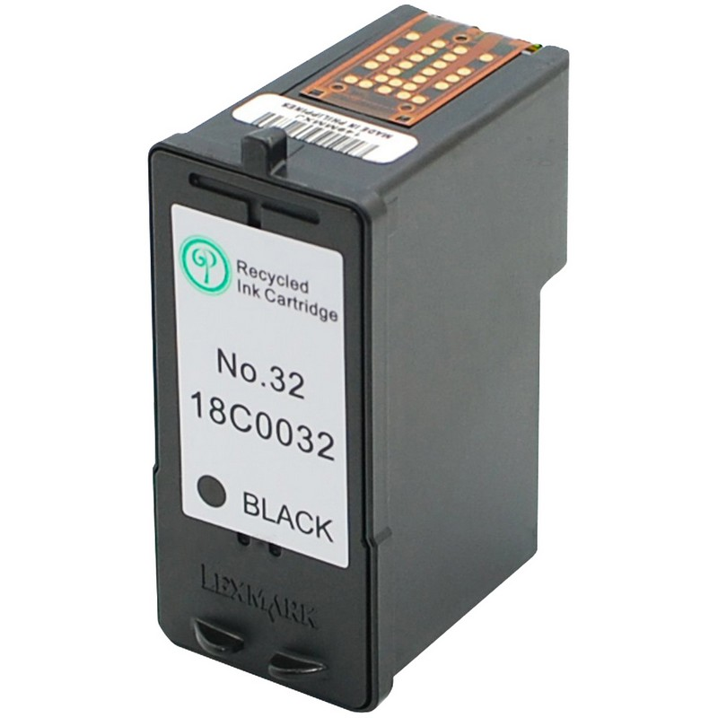 Lexmark 18C0032 Black Ink Cartridge-Lexmark #32