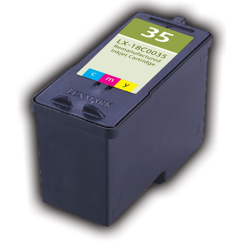 Lexmark 18C0035 Color Ink Cartridge-Lexmark #35