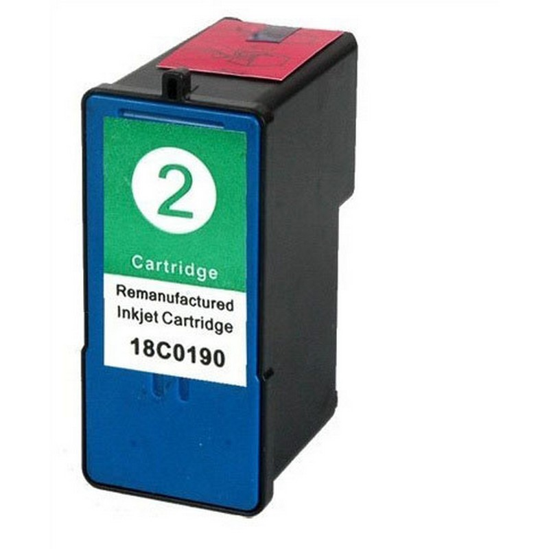 Lexmark 18C0190 Color Ink Cartridge-Lexmark #2