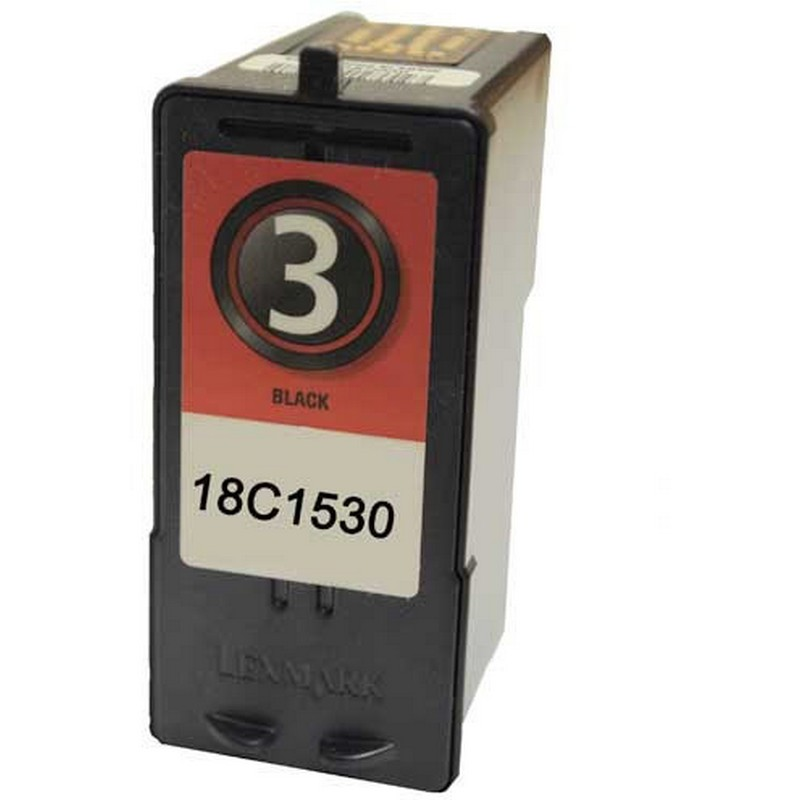 Lexmark 18C1530 Black Ink Cartridge-Lexmark #3