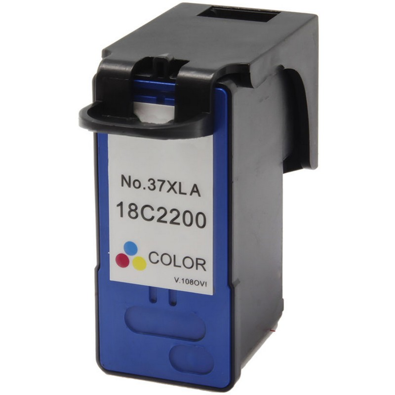 Lexmark 18C2200 Color Ink Cartridge-Lexmark #37XL