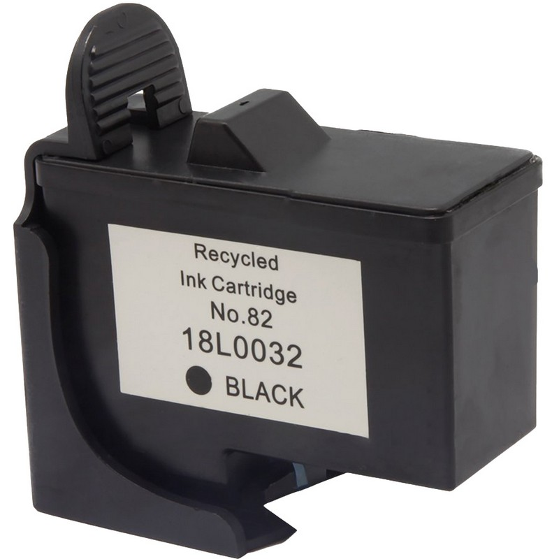 Lexmark 18L0032 Black Ink Cartridge-Lexmark #82