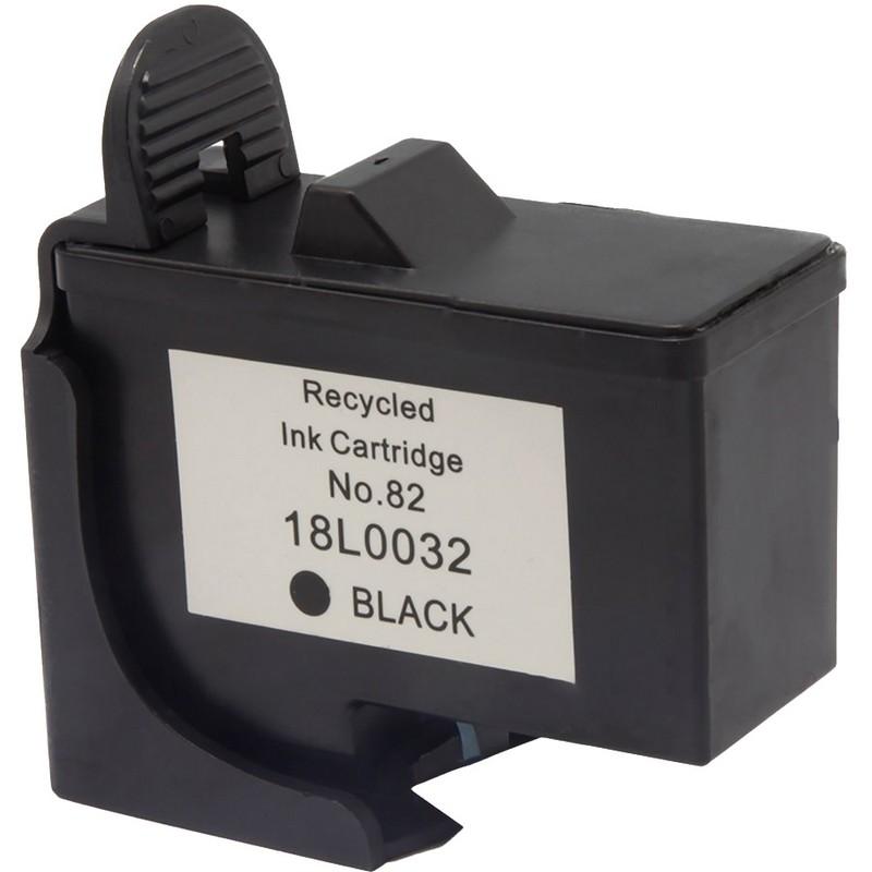 Lexmark 18L0032 Black Ink Cartridge-Lexmark #82
