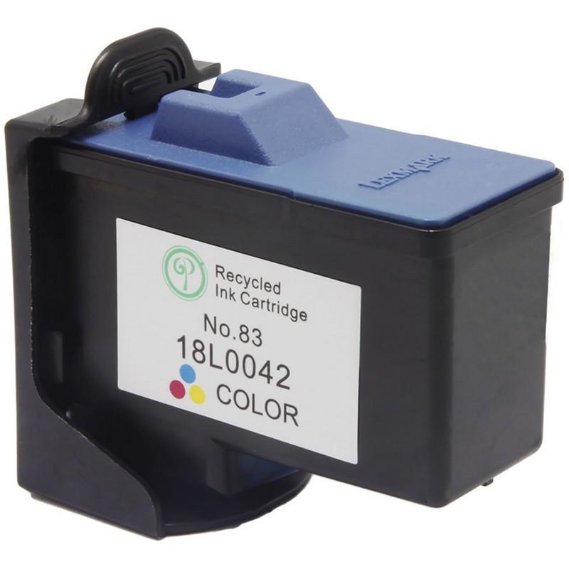 Lexmark 18L0042 Color Ink Cartridge-Lexmark #83