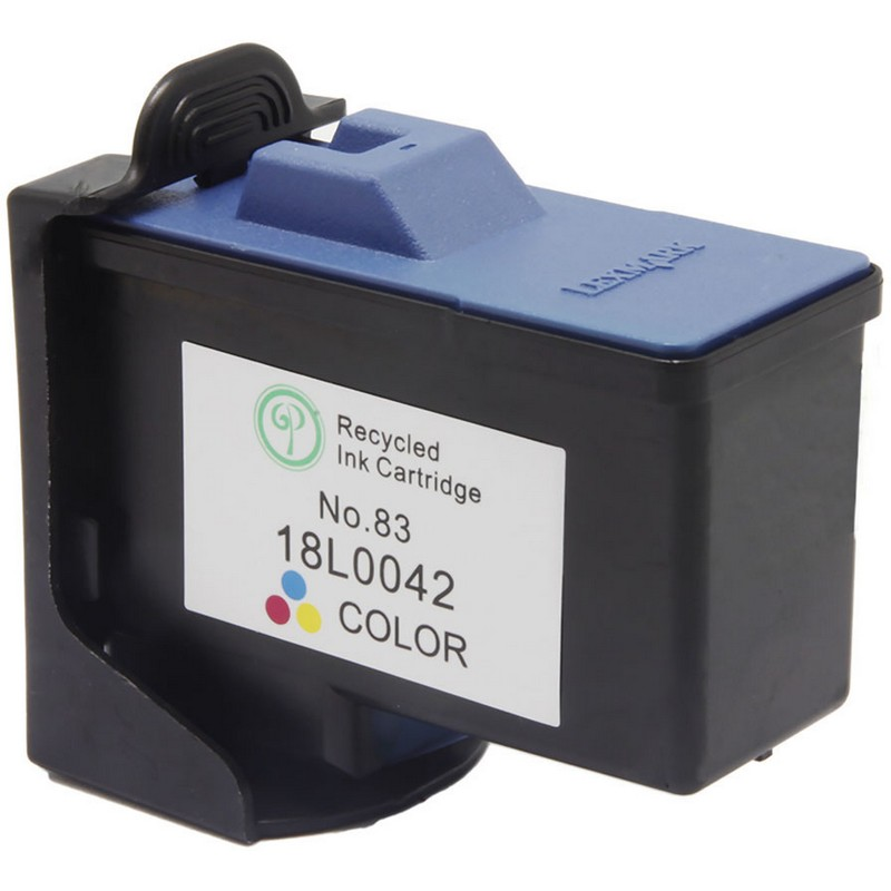 Lexmark 18L0042 Color Ink Cartridge-Lexmark #83